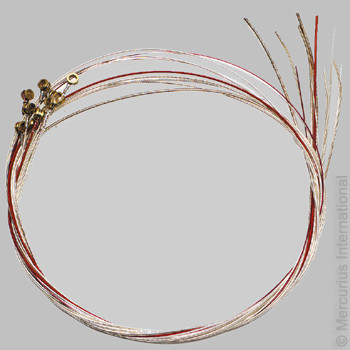 Sada 7 strun pro dětskou pentatonickou lyru Auris