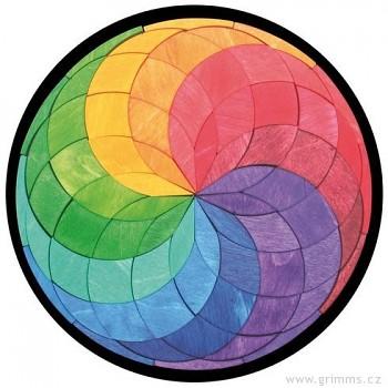GRIMM´S Maxi magnetické puzzle barevná spirála
