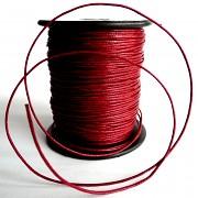 Bavlněná voskovaná šňůrka - různé barvy