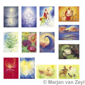 Sada obrázků Marjan van Zeyl - Sváteční chvíle