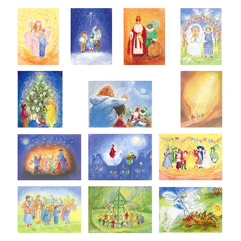 Sada obrázků Marjan van Zeyl - Svátky a tradice