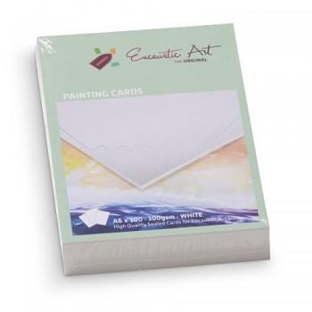 ENCAUSTIC Enkaustický papír bílý A6 - 100 listů