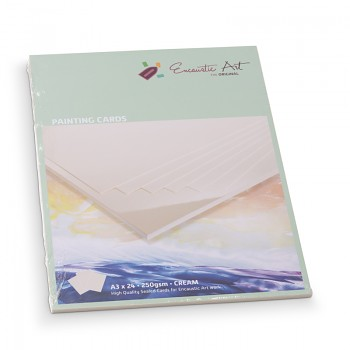 Encaustic karton krémový A5 - 24 listů
