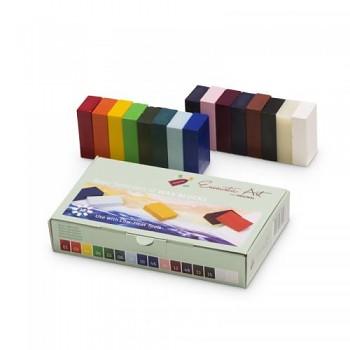 Startovací sada 16 ks voskových barev ENCAUSTIC