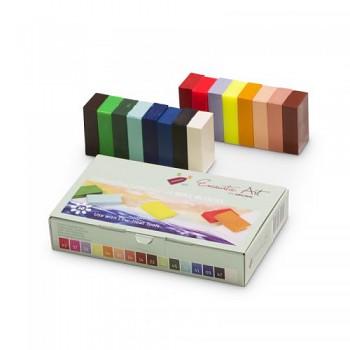 Rozšířená sada 16 ks voskových barev ENCAUSTIC