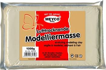 MEYCO Modelovací hmota tvrdnoucí na vzduchu - bílá
