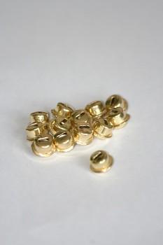 Sada zlatých rolniček - průměr 0,7 mm