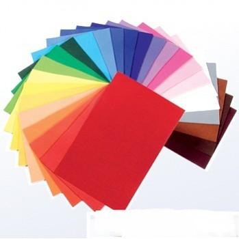 Filc 100% vlna - 1 mm (400 gr.) - 20 x 20 cm - různé barvy