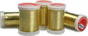 Mosazný drátek - průměr 0,3 mm, délka 50 metrů
