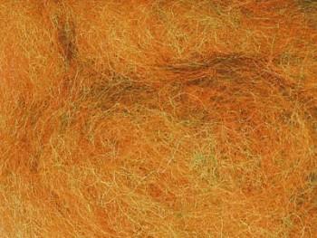 Ovčí vlna barvená mykaná 10 gr. - melír kontrastní - různé barvy