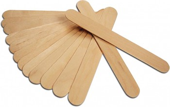 MEYCO Dřevěné špachtle 150 x 19 x 2 mm