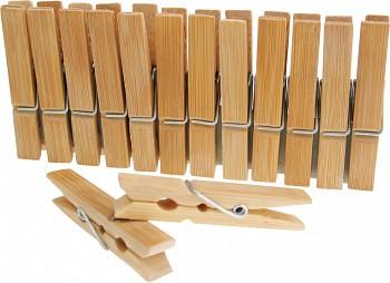 Dřevěné bambusové kolíčky - 2 velikosti