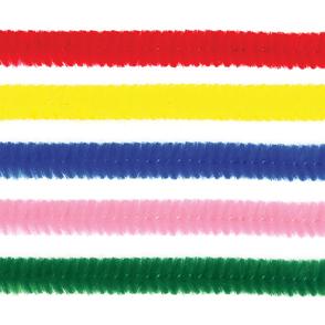 MEYCO Modelovací chlupaté drátky 50 cm - 10 ks od jedné barvy