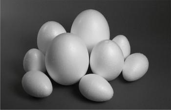 Polystyrenové vajíčko - 6 cm