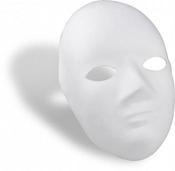 Tvarovaná papírová maska celoobličejová