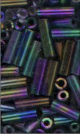 MEYCO Skleněné korálky - tyčinky - 05 duhová