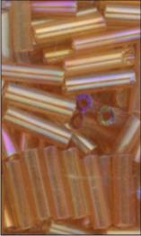 MEYCO Skleněné korálky - tyčinky - 11 medově žlutá