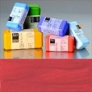 Voskové barvy pro Americkou techniku - červené pigmenty