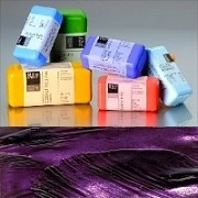 Voskové barvy pro Americkou techniku - fialové pigmenty