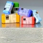Voskové barvy pro Americkou techniku - metalické pigmenty