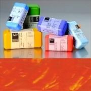 Voskové barvy pro Americkou techniku - oranžové pigmenty