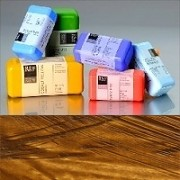 Voskové barvy pro Americkou techniku - zemité pigmenty