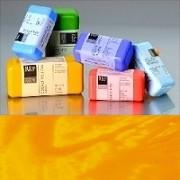 Voskové barvy pro Americkou techniku - žluté pigmenty
