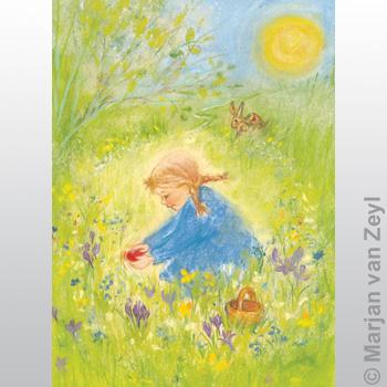 Obrázek Marjan van Zeyl - Červené velikonoční vajíčko
