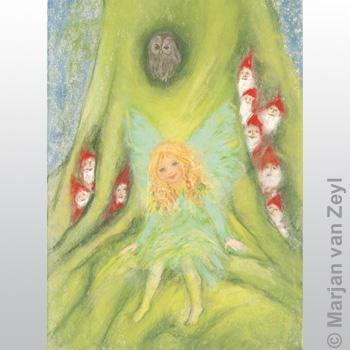 Obrázek Marjan van Zeyl - Víla a skřítci