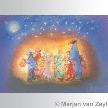 Obrázek Marjan van Zeyl - Svatomartinský průvod