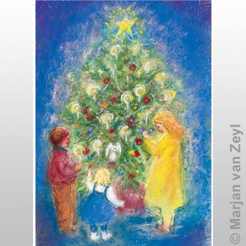 Obrázek Marjan van Zeyl - Okolo vánočního stromečku