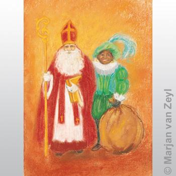 Obrázek Marjan van Zeyl - Svatý Mikuláš