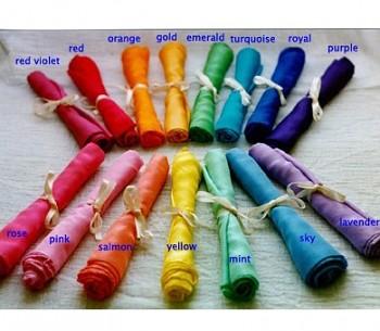SARAH'S SILK Velké hedvábí pro děti - různé barvy