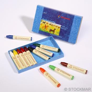 STOCKMAR Voskové pastelky - 12 barev