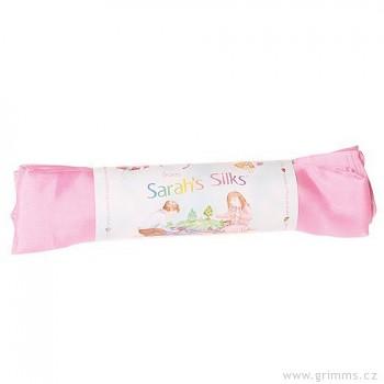 Velké hedvábí pro děti - růžová