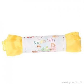 Velké hedvábí pro děti - žlutá