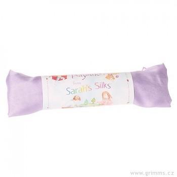 Velké hedvábí pro děti - fialová světlá