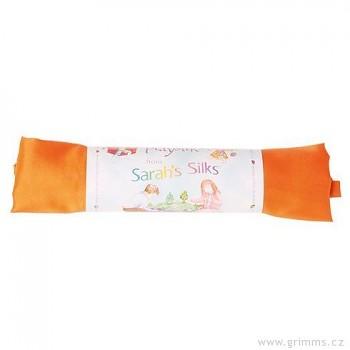 Velké hedvábí pro děti - oranžová