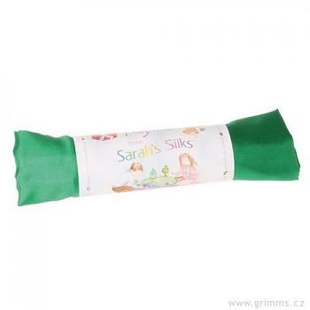 Velké hedvábí pro děti - smaragdová zelená
