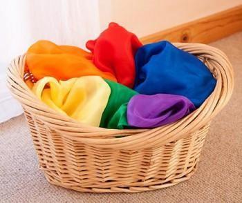 SARAH'S SILK Malé hedvábí pro děti - různé barvy