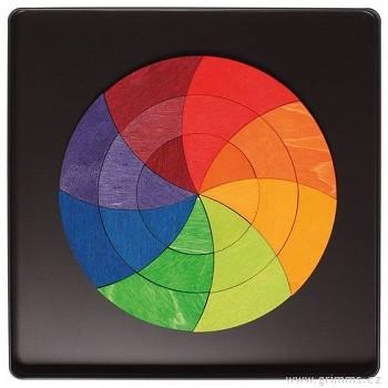 GRIMM´S Mini magnetické puzzle – kruh Goethe, 24 díly