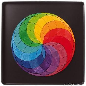 GRIMM´S Mini magnetické puzzle – barevná spirála