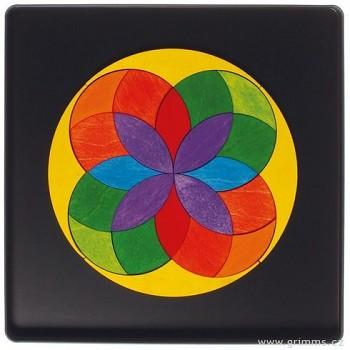 GRIMM´S Mini magnetické puzzle – kruh Iris