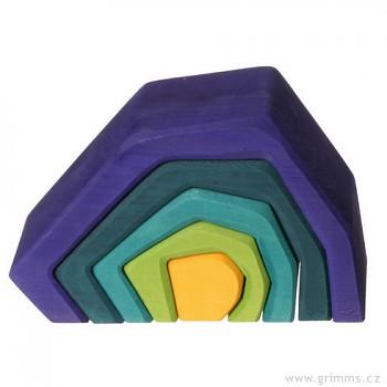 GRIMM´S Stavební kostky malá jeskyně, 5 dílů