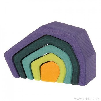 GRIMM´S Stavební kostky nejmenší jeskyně, 5 dílů