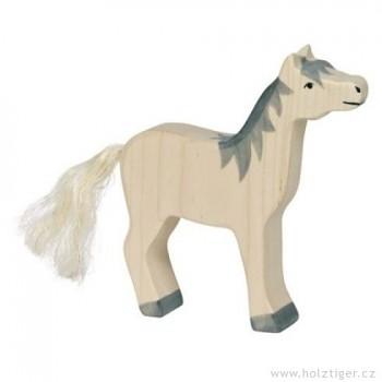 HOLZTIGER Koník bílý s šedou hřívou
