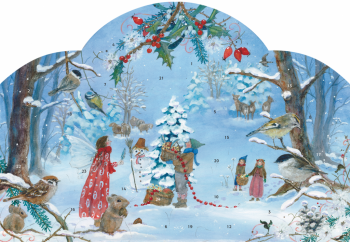 Adventní kalendář - Malí elfové slaví Vánoce