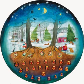 Adventní kalendář - Vánoce se skřítky