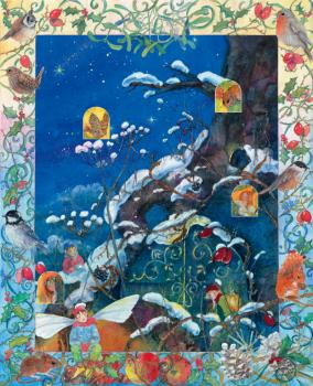 Adventní kalendář - Vánoce v zemi elfů