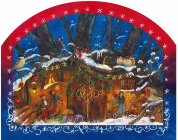 Adventní kalendář - Země skřítků